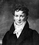Francois Magendie (1783-1855), French physiologist. Magendie graduated in medicine at Paris in 1808. In 1809, he described his experiments on plant-de...