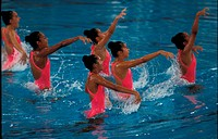 Synchronised swimming, Commonwealth Games, Malaysia