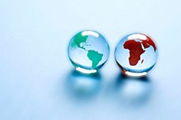 Marble globes