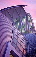 Museo de las ciencias Príncipe Felipe (detail), City of Arts and Sciences. Valencia. Spain