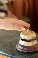 hotel reception, bell service