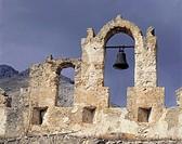 italy, sicilia, balata di baida, castle