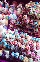 Sugar heads. Dia de los muertos (Day of the Dead). Mexico