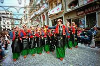 ´Moros y cristianos´ festival. Spain