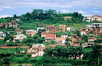 Capital City of Antananarivo. Republic of Madagascar.