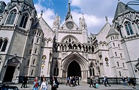 Royal Courts of Justice. London. England. UK.
