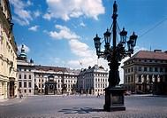 CZE, Prague, Praha, Castle, Courtyard