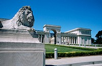 Art Museum, Palace of Legion of Honour. Lincoln Park. San Francisco, California. USA