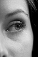 Detail of Young Woman´s Eye
