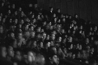 Audience at the Queen E Theatre, Vancouver, BC'