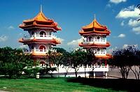 Pagodas, Chinese Garden, Singapore