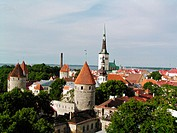 Old town. Tallinn. Estonia