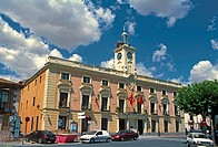 Town Hall. Alcalá de Henares. Madrid province, Spain