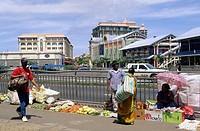 Mahebourg. Mauritius