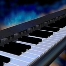 Illustration, keyboard, piano