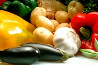 Food, vegetables, several (thumbnail)