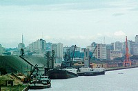 Ship, port, City, Porto Alegre, Rio Grande do Sul, Brazil (thumbnail)