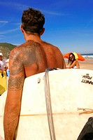 People, man, surfer