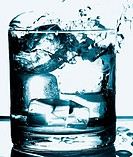 Liquid, water, cup, ice