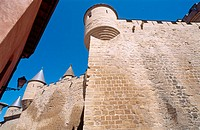 Castle. Olite. Navarra, Spain