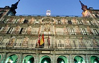 Casa de la Panadería built in 1590, Main Square. Madrid. Spain