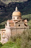 Church of Santa Maria Nuova. Cortona. Tuscany, Italy