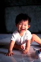 Baby girl laughing, Malaysia