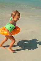 CHILD AT THE SEASIDE<BR>Model.