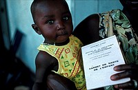 MEDICINE MALI<BR>Photo essay.<BR>Malian child´s health history. UNICEF.