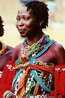 Woman. Natitingu. Atakora province. Northern country. Benin.