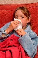 CHILD  WITH RHINITIS<BR>Model.