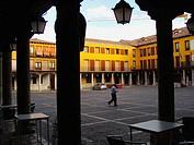 Square. Tordesillas. Valladolid province. Castilla y León. Spain
