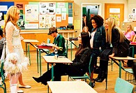 Film, ´Bekenntnisse einer Highschool Diva´  (Confessions of a teenage drama queen), USA 2004, Regie: Sara Sugarman, Szene mit: Lindsay Lohan, Megan Fo...