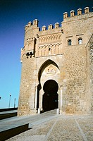 Puerta del Sol (XIVth century) Moz&#225;rabe style. Toledo. Spain