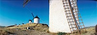 Windmills. The Route of Don Quixote. Consuegra. Toledo. Spain