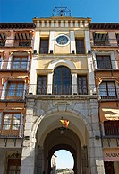 Detail in Zocodover Square. Toledo. Castilla la Mancha. Spain