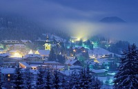 village view, tarvisio, italy