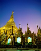 10652529, architecture, Asia, Burma, Asia, Buddhism, golden, culture, Myanmar, night, at night, religion, Shwedagon Paya pagod