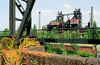 Metallurgy, now a museum. Duisburg-Meiderich, Germany