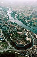 Duero river. Zamora. Spain