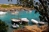 Binisafua Cove. Minorca, Balearic Islands. Spain