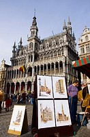 Belgium. Brussels. Grand Place. King's house or bread house