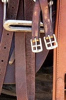 Polo saddle, straps and hardware