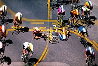 This is a bike crash I shot at a bike race