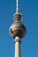 Fernsehturm (TV tower), Mitte. Berlin. Germany