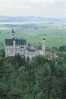 Neuschwanstein, Alpine Forest, Germany