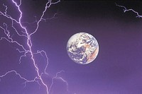Lightning and earth