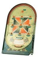 Antique pinball/bagatelle game