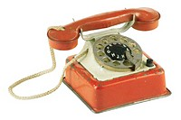 Antique rotary telephone