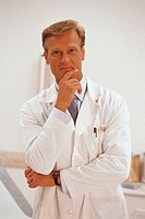 Male doctor, portrait